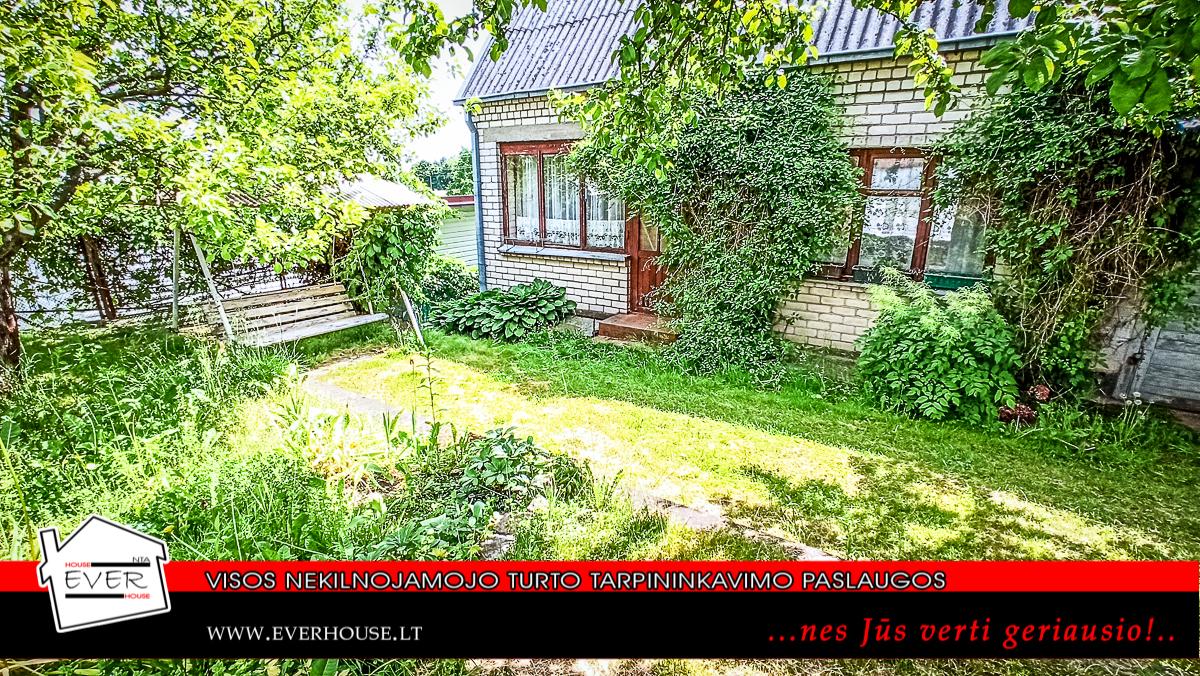 Sodas su mūriniu namu prie Kauno marių!